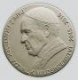 Papež František - obecný kov starobronz, 50 mm