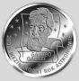 Galileo Galilei - stříbro 999/1000, 34 mm, 16 g