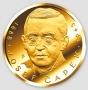 Josef Čapek - ryzí zlato 999/1000, 37 mm, 31,1 g