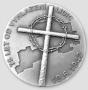 Lidice - ryzí stříbro 999/1000, 35 mm, 28,8 g